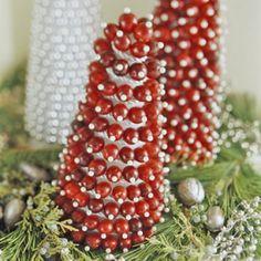 Diy ideas using foam cones on pinterest cone trees christmas trees