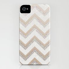 NUDE CHEVRON iPhone & iPod Case by Monika Strigel