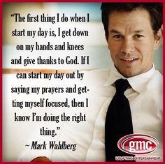 Mark Wahlberg FAITH Quote