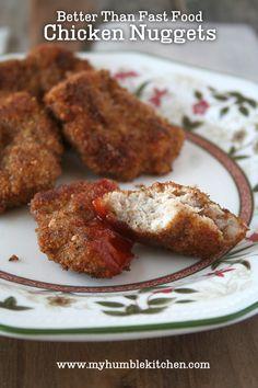 Better Than Fast Food Chicken Nuggets | myhumblekitchen.com