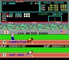 Hyper Olympics video game
