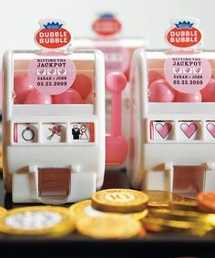 Mini Slot Machine - Las Vegas Wedding Favors, $2.78 (http://event.thingsfestive.com/mini-slot-machine-las-vegas-wedding-favors/) #lasvegasweddingfavors