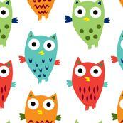 babi fashion, kid cloth, layett fabric, kid rooms, owl fun, babi stella, print, owl fabric