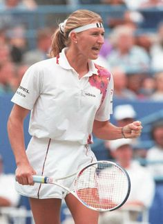 Stefanie Graf won 22 Grand Slam singles titles, including completing the Golden Slam in 1988, as she captured all four major titles plus the Olympic gold medal.
