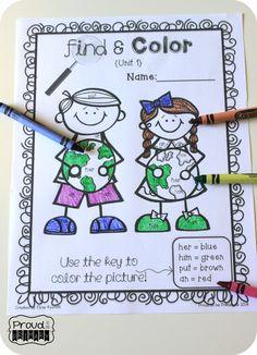 primari materi, tpt languag, sight wordsread, languag art, grade inspir, kindergarten read, read resourc, sight word activities