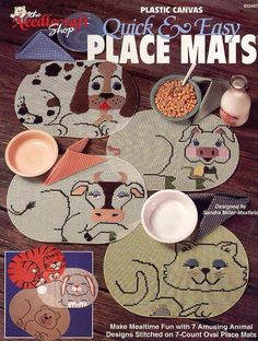 QUICK AN EASY PLACE MATS  1/7