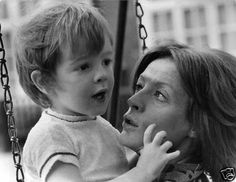 Toby Stephens with his mumsy, Maggie Smith.
