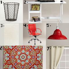 Live.Laugh.L0ve.: Virtual Office Makeover with #WorldMarket.