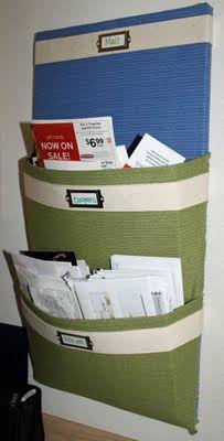 #DIY #mail #organizer