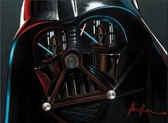 Hyper-real and very cool Star Wars art