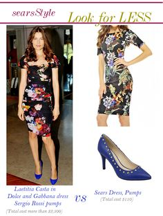 Laetitia Casta Look for Less #ThisisStyle #Cbias #shop