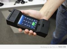 retro iphone case