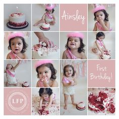 #oneyearold #firstbirthday #cakesmash #babyphotographer #dallastexas #pink