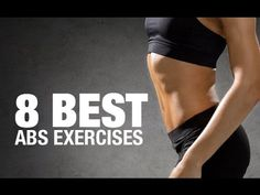 Abs Exercises for Women (8 AB-SOLUTE BEST!!)