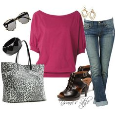 With a little swagger, created by yvonne2214 on Polyvore