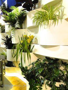 Interior Trends From Milan Included Vertical #Gardens #blogtourmilan