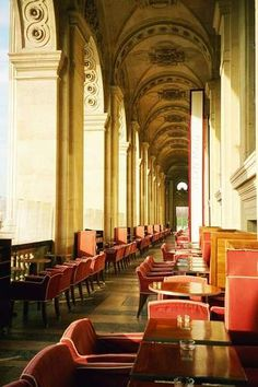 Cafe Marly at The Louvre, Paris