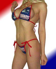 New York Giants bikini