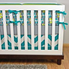 Crib Bedding Baby Bedding Fox Crib Set Woodland by modifiedtot, $40.00