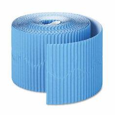"""acon Bordette Decorative Border, 2 1/4"""" x 50' Roll, Brite Blue (PAC37176)"""