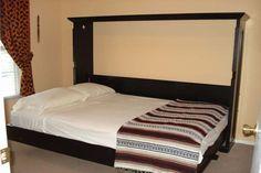 diy murphy bed - sideways
