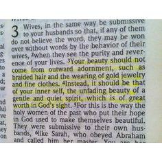 1 Peter 3:3-4