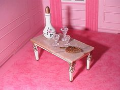 Ideal Petite Princess Fantasy furniture ( doll house miniatures) 1964; I still have mine!