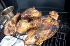 Santa Maria BBQ Chicken from Firefighter Rueben - Island Cooking on Guam.