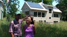 Trail Magic, an energy positive home in Oberlin created by Mary and Carl McDaniel '64.