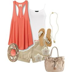 Polyvore Summer Outfits   great summer outfit by rosalind