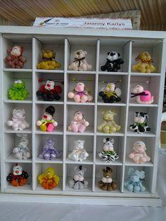 assort anim, teddi bear, teddy bears