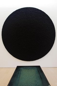 Black Sun by Damien Hirst.