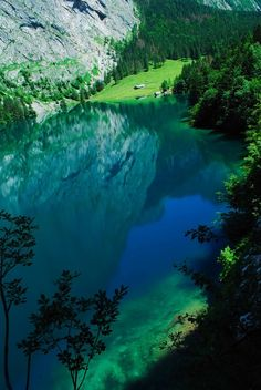water, mountain, bavaria, blue green, national parks, germany, lake, travel, place