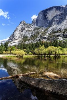 Barry O'Neil Mirror Lake Yosemite National Park in California on Sunday 27th April 2014.