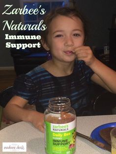 Keep your family healthy with Zarbee's Immune Support Vitamins #MC #ImmuneSupportZarbees #sponsored