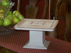 Lenox Forum Cake stand.  I've never seen that!