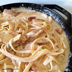 Cajun Chicken Alfredo - so delicious!!!