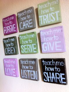 love this for our school room