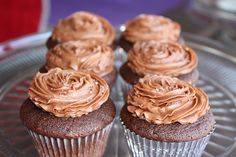 Chocolate with Cappuccino Sea Salt Buttercream