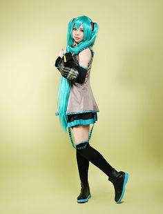 Vocaloid Hatsune Miku Cosplay Costume #cosplay #costume #vocaloid