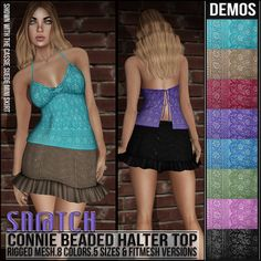 Sn@tch Connie Beaded Halter Top Vendor Ad LG | Flickr - Photo Sharing!