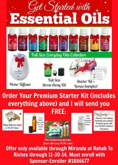 November is a great month to get started with Young Living Essential Oils!