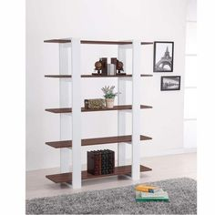 Ellise 5 Shelf Classic Bookcase and Display Stand