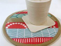 Craft Book Month: Patchwork Pot Holder ~ the plaid scottie
