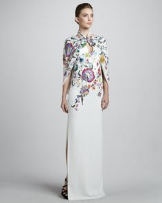 I can see me wearing this in the south of France to a fab gala. Wishing...