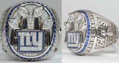 GIANTS - 2012 Superbowl Ring