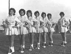 vintage twirling costumes, high school