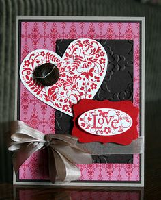 You Are Loved  Stampin' Up!  Valentine  Krystal De Leeuw