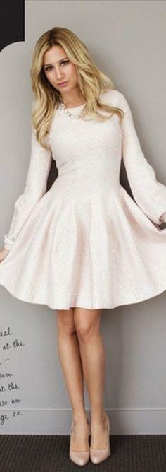 Ashley Tisdale: Dress – Alexander McQueen