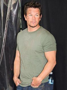 Mark Wahlberg looks rough and scruffed – but ready for action! – on the set of his new movie Transformers: Age of Extinction in Hong Kong. http://www.people.com/people/gallery/0,,20747249,00.html#30039514